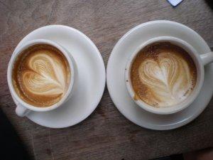 Lovely Abraço cappuccinos