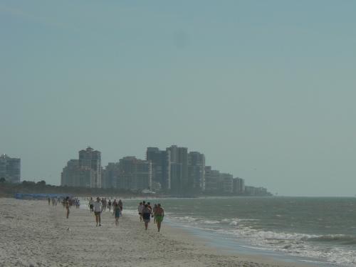 The beach of Naples, Florida