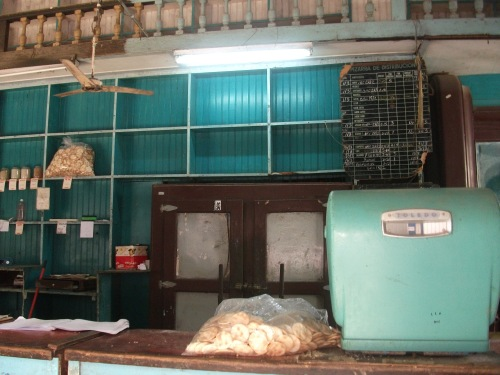 Ration store in Havana, Cuba