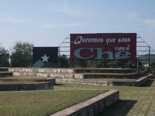 Che Guevara Memorial in Santa Clara, Cuba