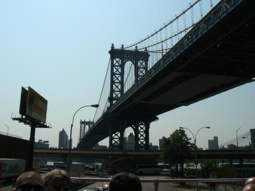 NYC, bridge, Tara and Karina Go Out
