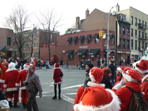 SantaCon 2010 NYC