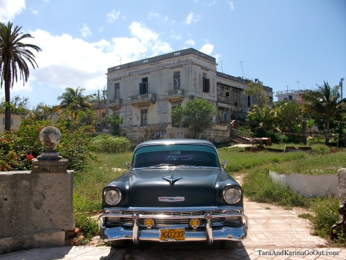 Car in Cojimar, Cuba
