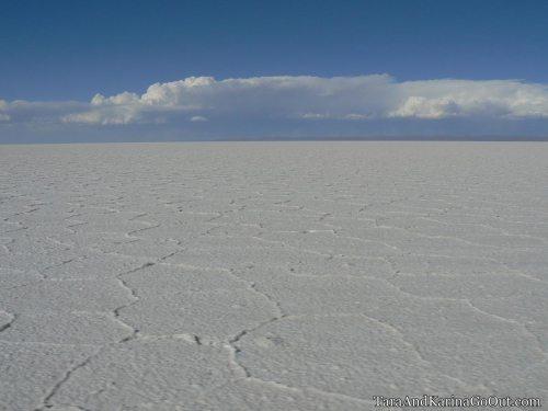 Salar de Uyuni salt flat Bolivia