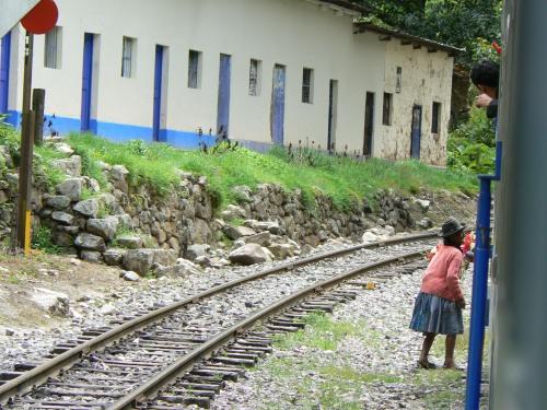 Train from Cuzco Cusco to Aguas Calientes Peru Machu Picchu