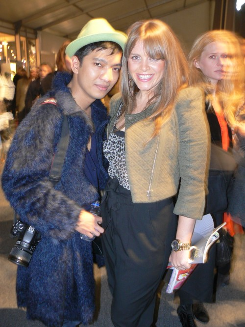Adryan and Bryan Boy at New York Fashion Week, Fall 2011