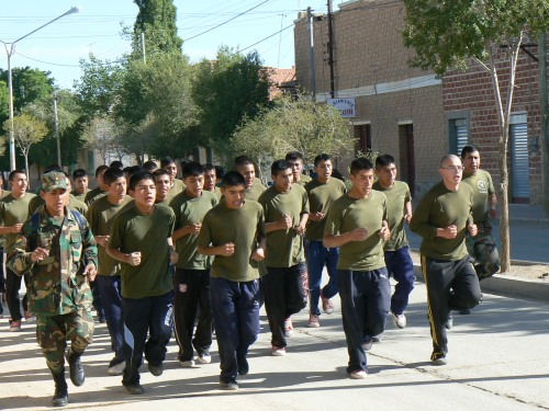 bolivia army training