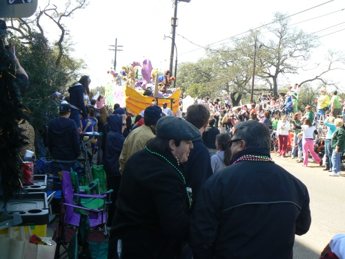 Mardi Gras 2011 parades in Uptown, New Orleans