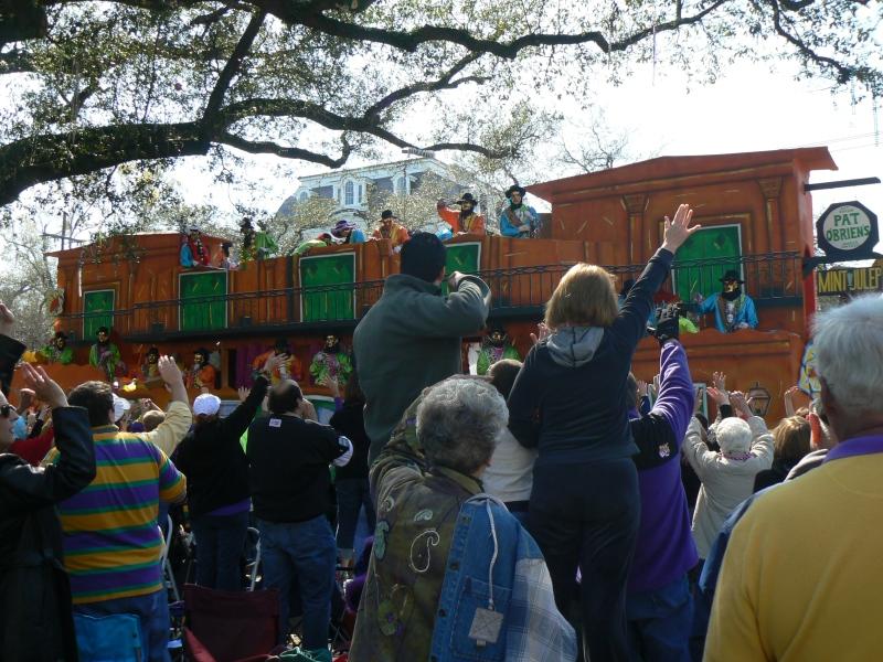 Krewe of Thoth Mardi Gras 2011 parade