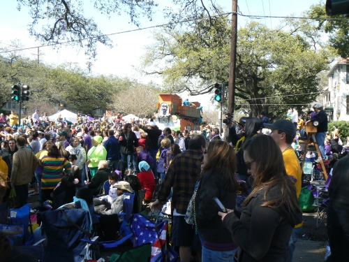 Mardi Gras 2011 Uptown New Orleans